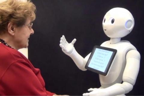 Homme et robot
